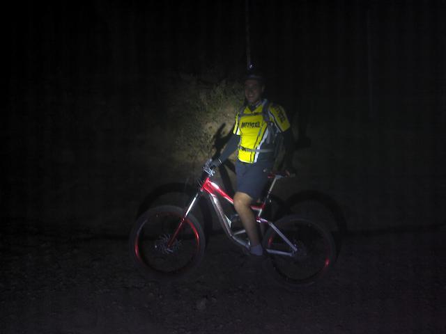 Vererda de Linares - Santo Domingo - El Cerrillo. Etapa nocturna (10/03/2012)